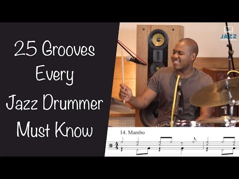 25 Grooves Every Jazz Drummer (and instrumentalist) Must Know w/ Bryan Carter