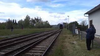 preview picture of video 'Locomotore a vapore Treno natura Asciano'