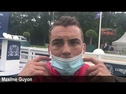 Maxime Guyon revient sur son formidable coup de quatre !