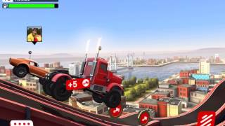 MMX HILL CLIMB DASH Android / iOS Gameplay Video | The Big Rig / The APC