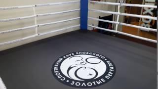 Ринг в  Yanovsky boxing club, Luzhniki, Moscow