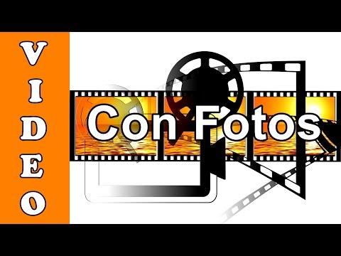 ✔ Como Crear Un Vídeo con Fotos y Música Con Movie Maker / Kizoa