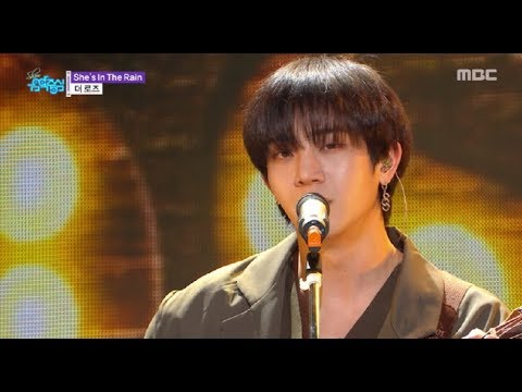 [HOT] The Rose  - She's In The Rain  ,  더 로즈 - She's In The Rain Show Music Core 20181006