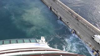 preview picture of video 'Bridgetown, Barbados - Jewel of the Seas Departure HD (2015)'