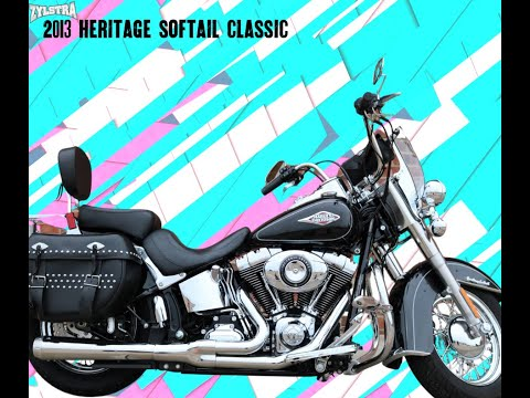 2013 Harley-Davidson Heritage Softail® Classic in Ames, Iowa - Video 1