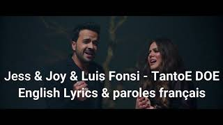 Jesse & Joy & Luis Fonsi , Tanto English Lyrics , Paroles Francais