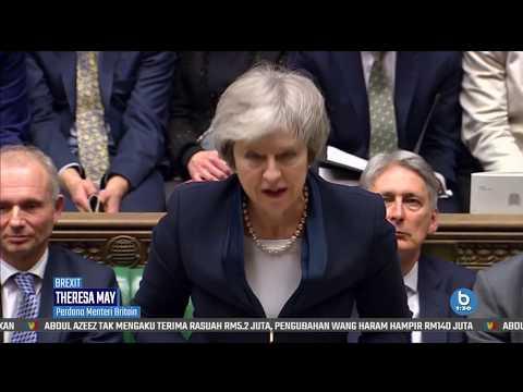 Theresa May Gagal Raih Undi Parlimen Britain