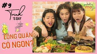"""Ngọc Trinh - My Day #9   Cùng Ty-aigoo, Thánh Ăn """"Ăn Sạch"""" Món Ngon Hà Thành"""