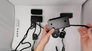 RAWBOND Deckenlift Anleitung - Wie fädel ich das Seil durch den Lift?