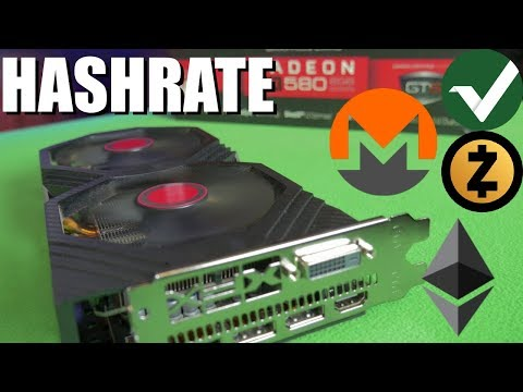 RX 580 8GB Hynix Hashrate | Zcash | Monero | Ethereum | Vertcoin |