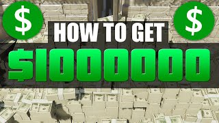 How to get 1 million dollars in gta 5
