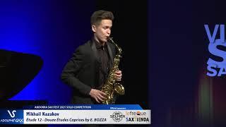 Mikhail Kazakov plays Étude 12 – Douze Études Caprices by Eugène BOZZA