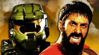 Master Chief vs Leonidas. Epic Rap Battles of History Season 2.