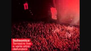 Subsonica - Preso Blu (live)