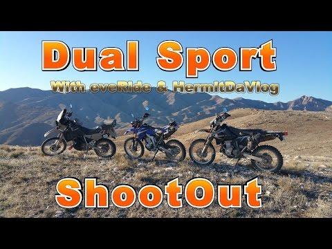 Dual Sport Shootout pt.1 – KLR650 DRZ400S WR250R