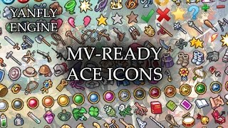 RPG Maker MV Tutorial - Yanfly Icon Generator (1/2) - Самые