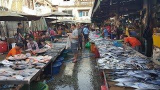 Bangkok fresh market ตลาดบางกะปิ(ลาดพร้าว123)  ข้าวของราคาถูก แหล่งซื้อหาอาหารนานาชนิดของกรุงเทพฯ