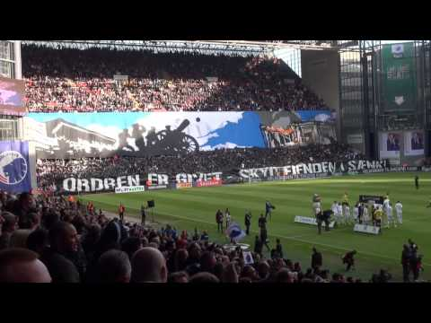 FC København - Brøndby  2014 - TIFO