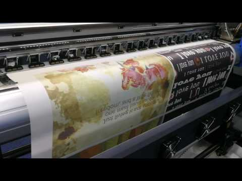 Sublimation Printing - Curtain and Apron