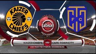 Absa Premiership 2018/19 | Kaizer Chiefs Vs Cape Town City