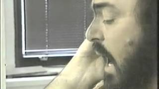 Luciano Pavarotti rehearsal :))