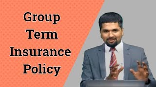 Group Term Insurance Policy - Money Doctor Show English | EP 139