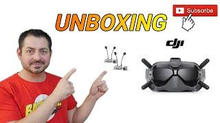DJI Digital FPV System Unboxing Deutsch - German (HD FPV)