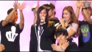 SNSD Jessica & Krystal Butterfly [Li Ning Fan Meeting] (Fan Cam)