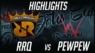 RRQ vs PewPew ProDotA Cup SEA 2017 Highlights Dota 2 by Time 2 Dota #dota2