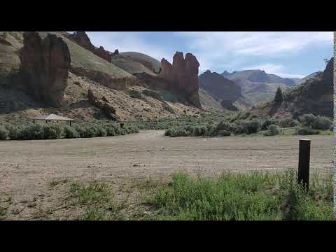Video Of Slocum Creek (Leslie Gulch) Campground, OR