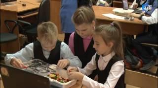 В новгородской 22-й школе сегодня прошел открытый урок по робоконструированию