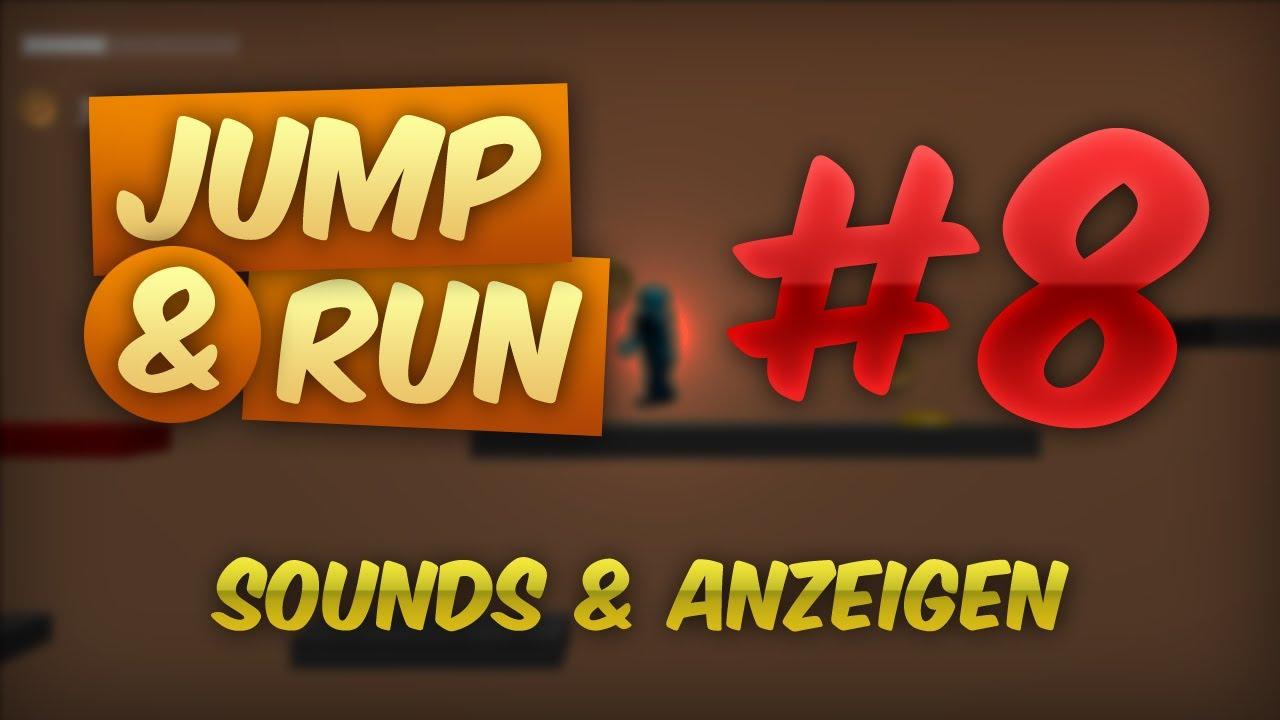 JUMP & RUN #8 - Sounds, Anzeigen & Export | Tutorial Blender Game Engine [DEUTSCH] [HD]