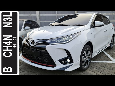 In Depth Tour Toyota Yaris TRD Sportivo CVT 3 Airbags [XP150] Facelift (2020) - Indonesia