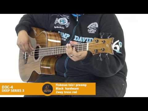 Ortega Guitars | D3C-4 - Seep Series 3 (Acoustic Bass Guitar)