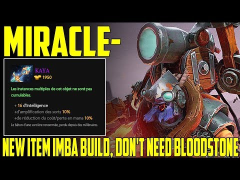 Miracle- Tinker | New Item Imba Build, Don't need Bloodstone