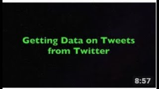 How To Extract Tweets From Twitter Using Python In Urdu/Hindi Part 5