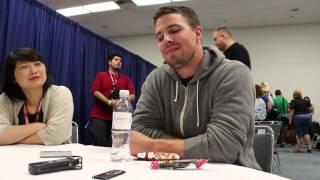 "Stephen Amell: ""Arrow"" Wondercon interview"