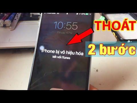 Hướng dẫn thoát iPhone bị vô hiệu hóa tại nhà qua 2 bước đơn giản nhất | có tài khoản icloud và mk