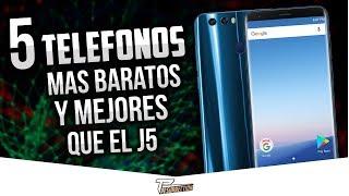 5 INCREÍBLES teléfonos MUY BARATOS | Top 5 Mejores celulares BARATOS y BUENOS por menos de $99 2018