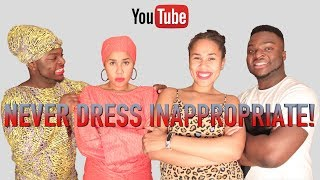 Never Dress Inappropriate To An African Home!
