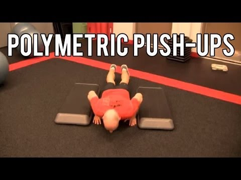 3 Plyometric Push-ups