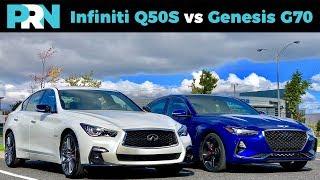 Infiniti Q50S 400 vs Genesis G70 3.3T Sport