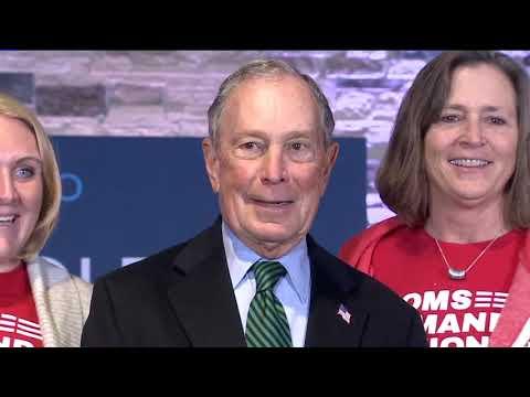 Bloomberg unveils gun plan at Aurora event: Permits, assault weapon ban, age limits
