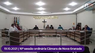 16ª SESSÃO ORDINÁRIA CÂMARA DE NOVA GRANADA
