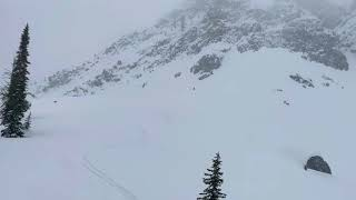 Soft snow survived on North aspects and was nice with a fresh blanket of new snow on top