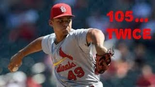 The Hardest Throwing Pitcher In MLB Today - Video Youtube
