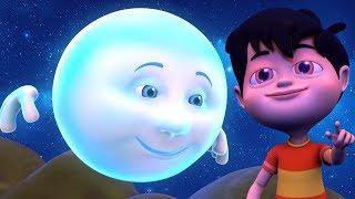 Chanda Mama Poem Hindi | चंदा मामा | Hindi Balgeet | Kids Channel India | Hindi Nursery Rhymes