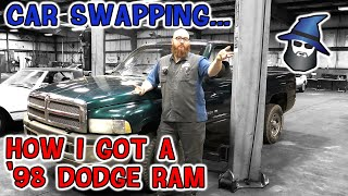 The CAR WIZARD swaps a car from his fleet for a '98 Dodge Ram! Did he get a good trade???
