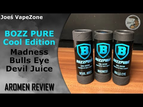 YouTube Video zu BOZZ Pure Cool Edition Madness Premium Aroma 10 ml