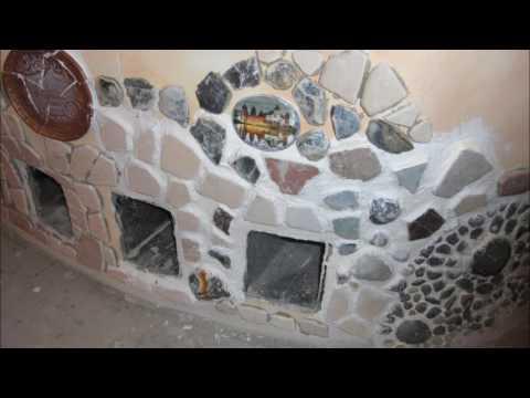 Фото Декоративное оформление камина в загородном доме. Срок исполнения - 1 месяц